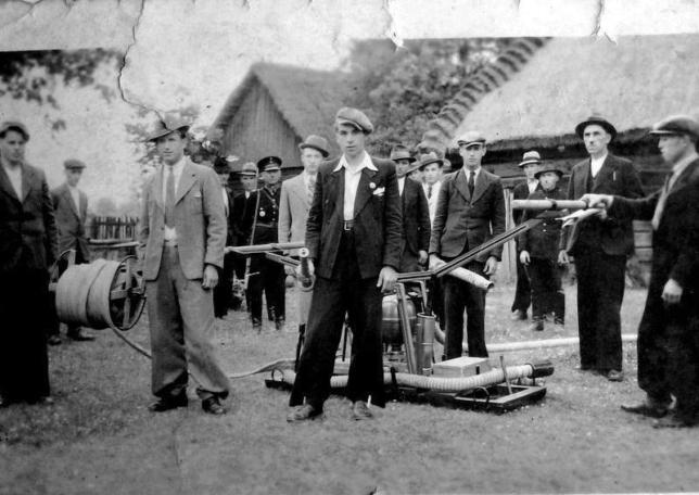 Zdjęcie wykonane ok. 1944 r. podczas ćwiczeń.
