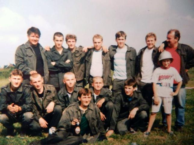 26.07.1998 r. Zawody sportowo-pożarnicze w Jadachach.