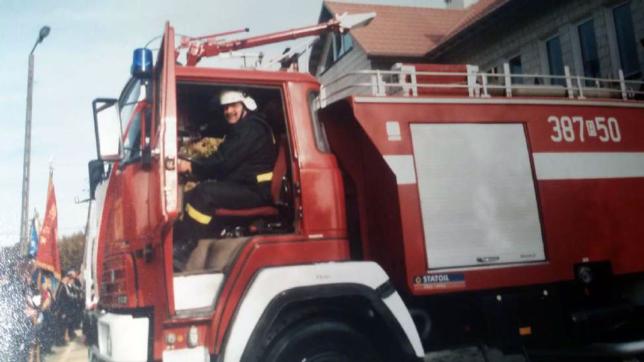 Kierowca samochodu – Jerzy Kozioł.
